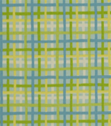 home decor print fabric robert allen baja plaid turquoise