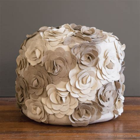 flower pouf ottoman flower pouf