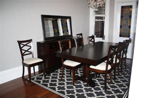Dining Room Rug Size How To Choose The Area Rug For Your Dining Room