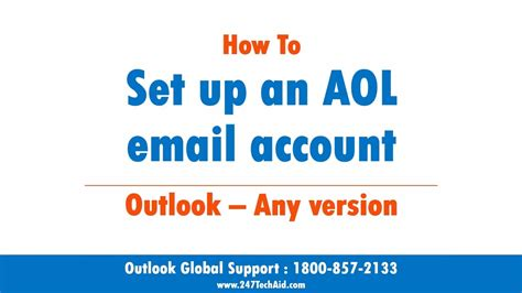 Aol Email Search Not Working How To Setup An Aol Email Account In Outlook