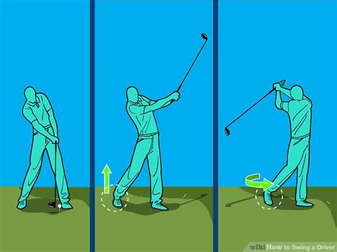 Golf Swing Driver by How To Swing A Driver 10 Steps With Pictures Wikihow