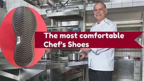 The Most Comfortable Work Shoes For Chefs Youtube