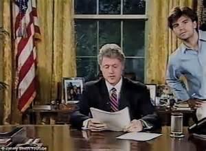 bill clinton reveals president practicing 1993