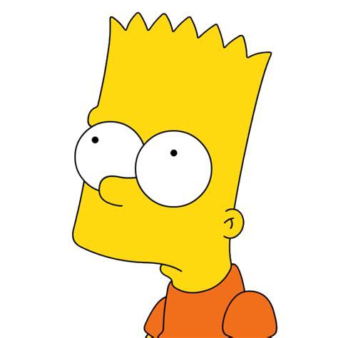 imagenes de bart triste cara de bart simpson