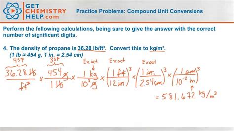 convert pdf to word header problem chemistry practice problems compound unit conversions
