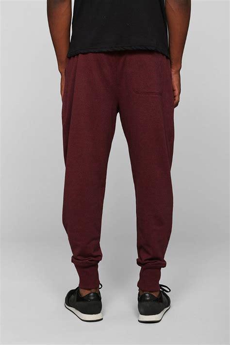 Jogger Pant Vegas Basic Maroon lyst bdg knit jogger pant in purple for