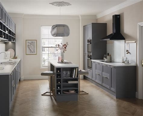 the kitchen collection uk allendale slate grey kitchen shaker kitchens howdens joinery