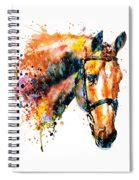 Colorful Horse Head Painting By Marian Voicu