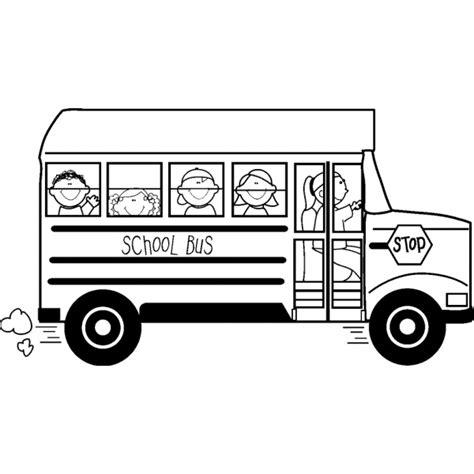 Disegno di School Bus da colorare per bambini