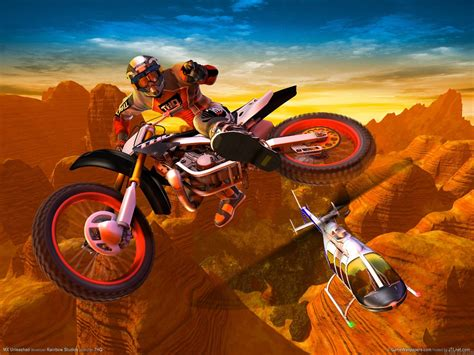 d motocross fond ecran motocross madness 66013 wallpaper gratuit