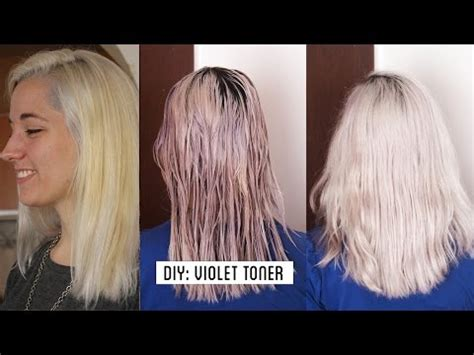 the counter purple hair toner download video how to get white hair grey hair make