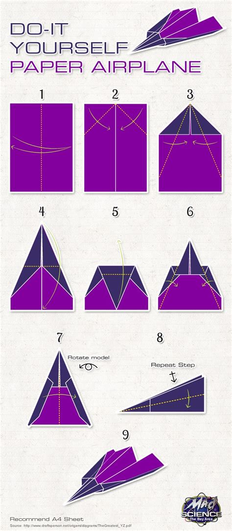 How To Fold The Best Paper Airplane - the 25 best paper planes ideas on