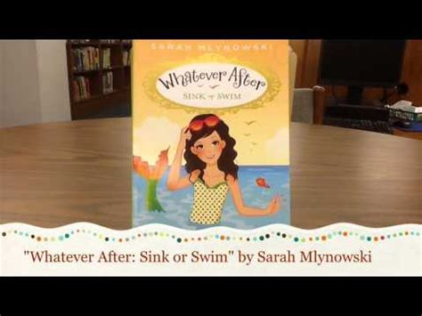 whatever after sink or swim whatever after sink or swim by sarah mlynowski youtube