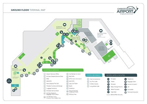 airport map airport information christchurch airport nz airports christchurch airport