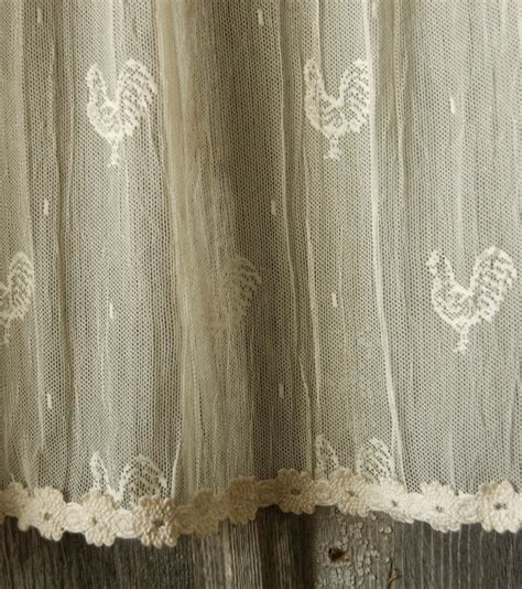 rooster lace curtains 106 best images about rooster decor on pinterest french