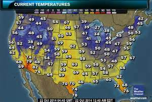 united states map weather united states weather map today