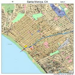 santa california map 0670000