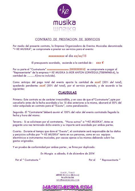 contrato de prestaci 243 n de servicios contratante municipio contrato de prestacion de servicios de eventos sociales
