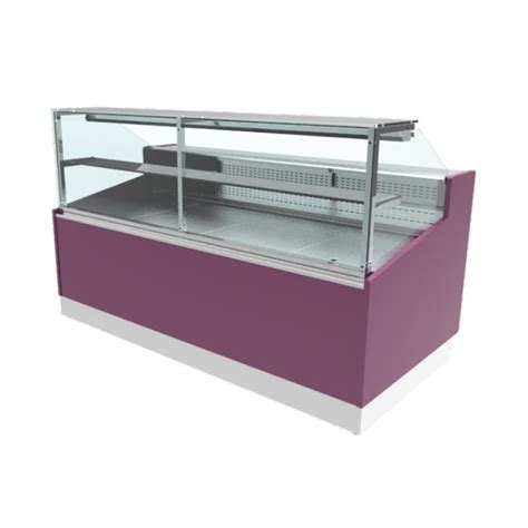 comptoir frigorifique comptoir frigorifique horizontal avec vitres droites et