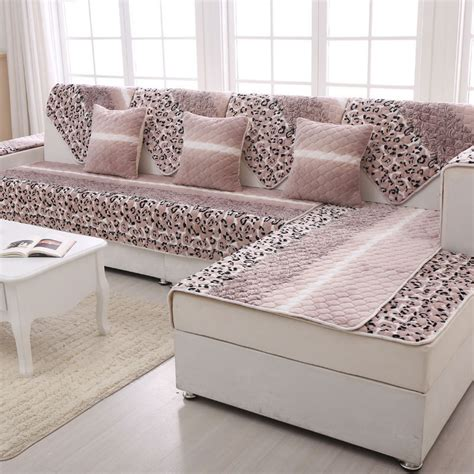 aliexpress buy flannel sectional sofa slip cover
