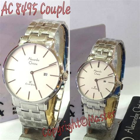 Jam Tangan Alexandre Christie 8495 jam alexandre christie ac 8495 ml silver white jam tangan