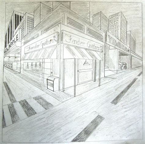 Drawing 2 Point Perspective by At Woodstock Drawing And Painting 2 Point Perspective