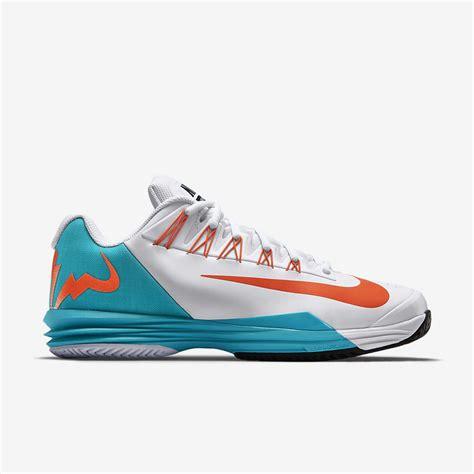 nike mens lunar ballistec tennis shoes white dusty