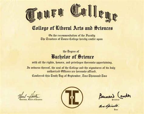Mba No Bachelor S Degree by Ripoff Report Touro College Complaint Review New York
