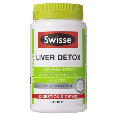 Detox Tablets buy ultiboost liver detox 120 tablets by swisse