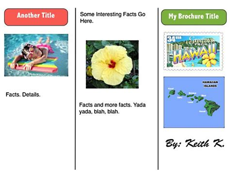 travel brochure templates for kids www imgkid com the