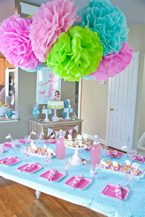Decoration Table Anniversaire Fille by Anniversaire Enfant Id 233 Es D 233 Co L Anniversaire Fille