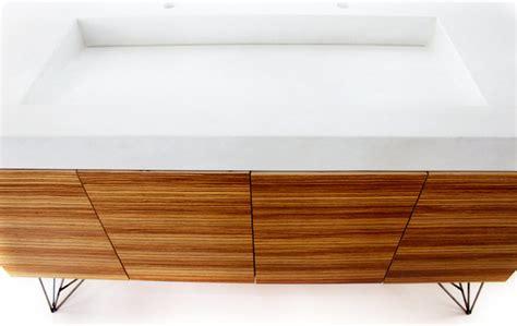 zebra wood bathroom zebra wood vanity with crevasse sink modern bathroom