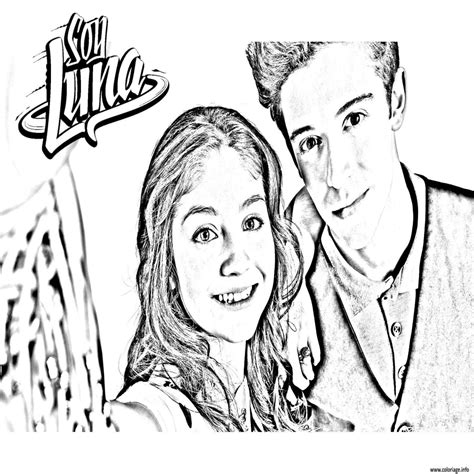 Coloriage Disney Soy Luna Coloriage Imprimer Disney Channel L
