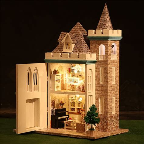 Handcraft House - new dollhouse miniature diy handcraft kit dolls house with