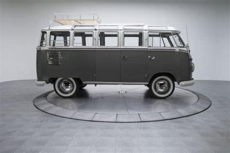 volkswagen wagon 1960 1960 volkswagen kombi 23 window bus 63550 miles mouse grey