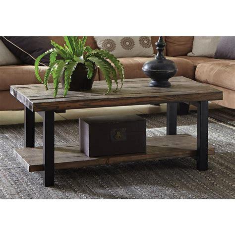 home depot coffee table alaterre furniture pomona rustic coffee table