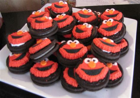 Elmo Themed First Birthday Party: DIY-Style | Ups and Downes Luau Food Ideas For Party