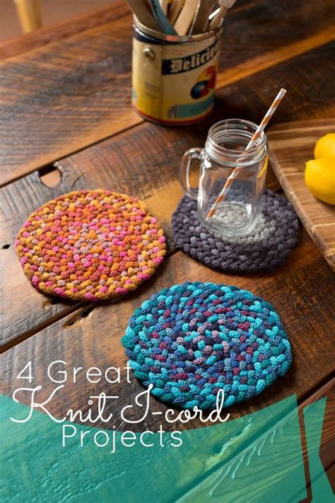 The Stuff You Can Knit by Oh The Things You Can Make With Knit I Cord Get 4 Diy