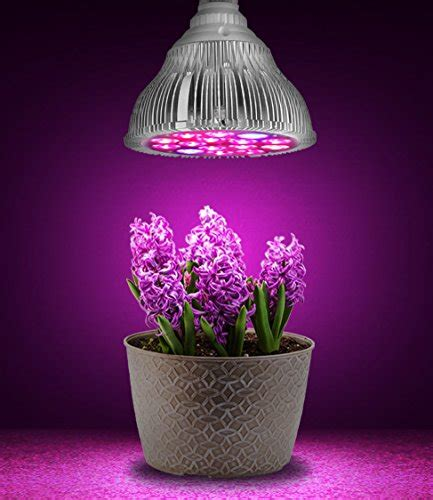 blue grow light bulbs hoont led grow light indoor plant flowers and herb