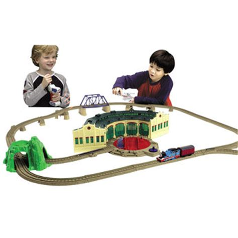 Trackmaster Tidmouth Sheds Playset by R C At Tidmouth Sheds
