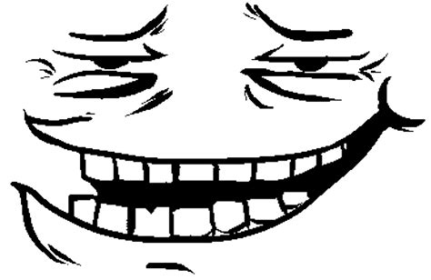 Troll Face Know Your Meme - trollface png free download best trollface png on