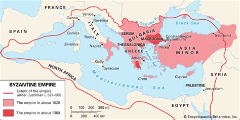 The Byzantine Empire Russia And Eastern Europe Outline Map by Byzantine Empire History Geography Maps Facts Britannica