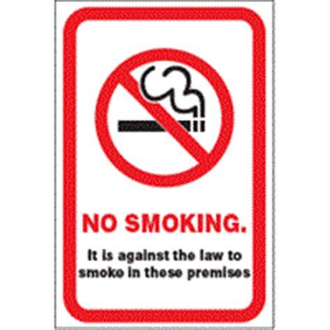 no smoking sign fine smokefree legislation penalties preston city council