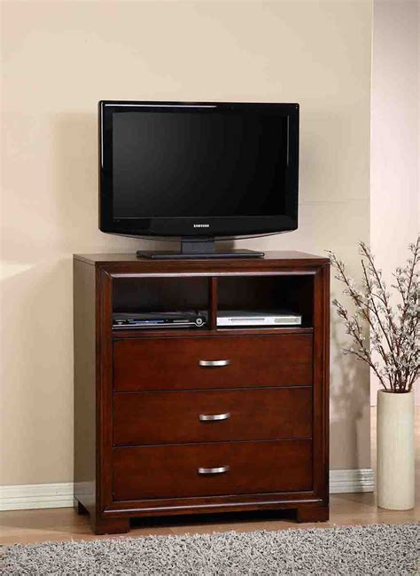 small tv stand for bedroom with dark wood universal 2017 elements international raven bedroom elements