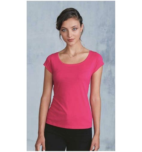 Boat Neck Sleeve T Shirt ladies s boat neck sleeve t shirt simple clothing