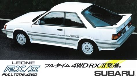 subaru leone coupe subaru leone technical specifications and fuel economy