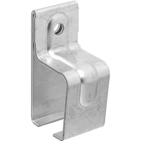 National Hardware Galvanized Single Box Rail Brackets National Sliding Barn Door Hardware