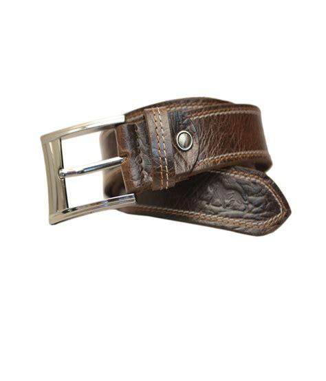 leefab brown leather belt buy at low price in
