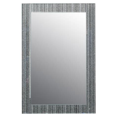 sparkle bathroom mirror b m glitter frame mirror 295573 b m