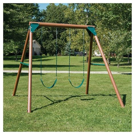 swing set swing n slide equinox swing set target